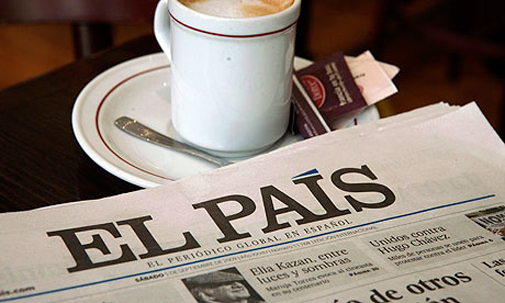 newspaper coffee