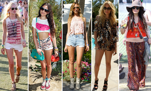 celebrity coachella fashion