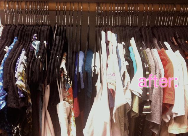 closet velvet hangers