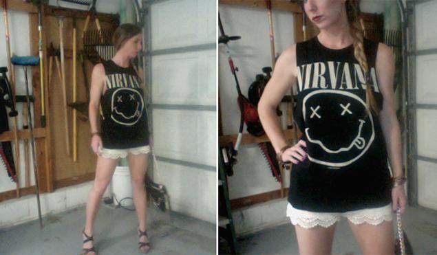 nirvana t shirt