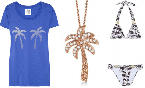 palm tree accessories