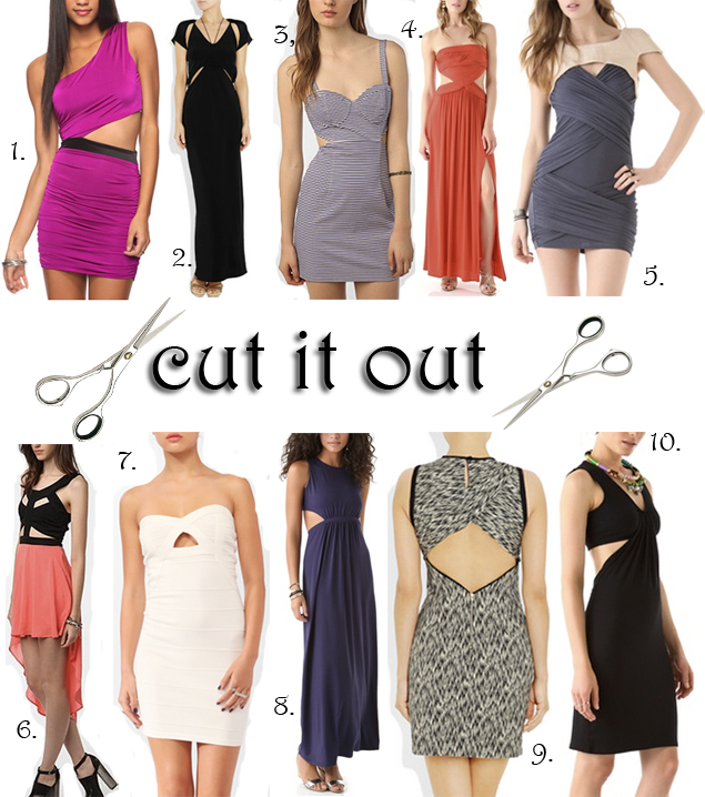 cut out dresses