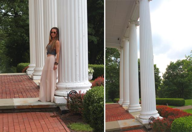 grecian columns