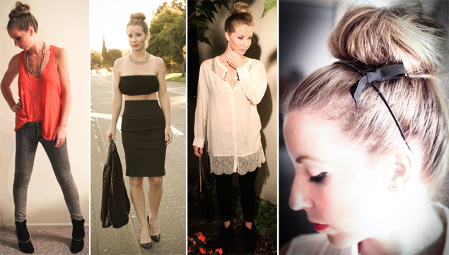 top knot styles