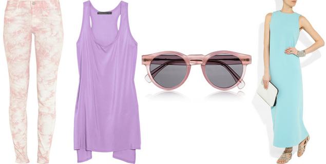 pastel clothing