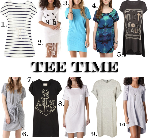 tshirt dresses