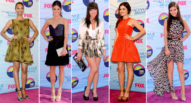 teen choice awards red carpet