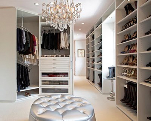 walk in closet chandelier