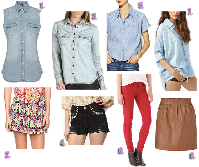 ways to style a denim shirt