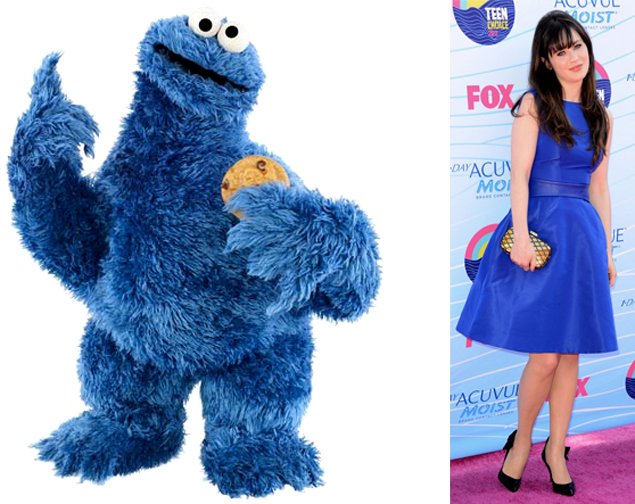 zooey deschanel teen choice awards