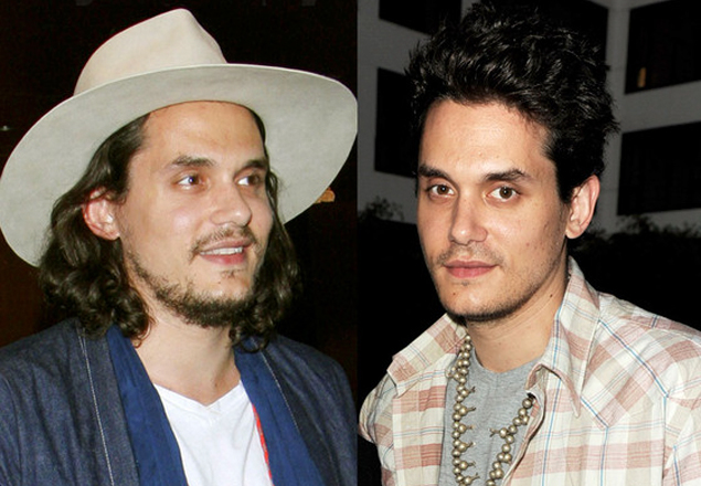 john mayer hair