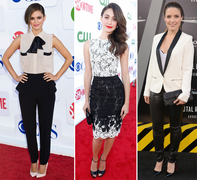 black and white rachel bilson emmy rossum sophia bush