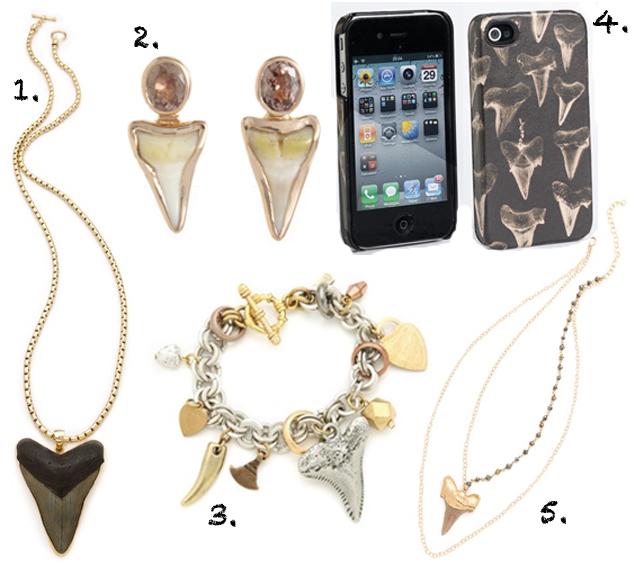 shark jewelry