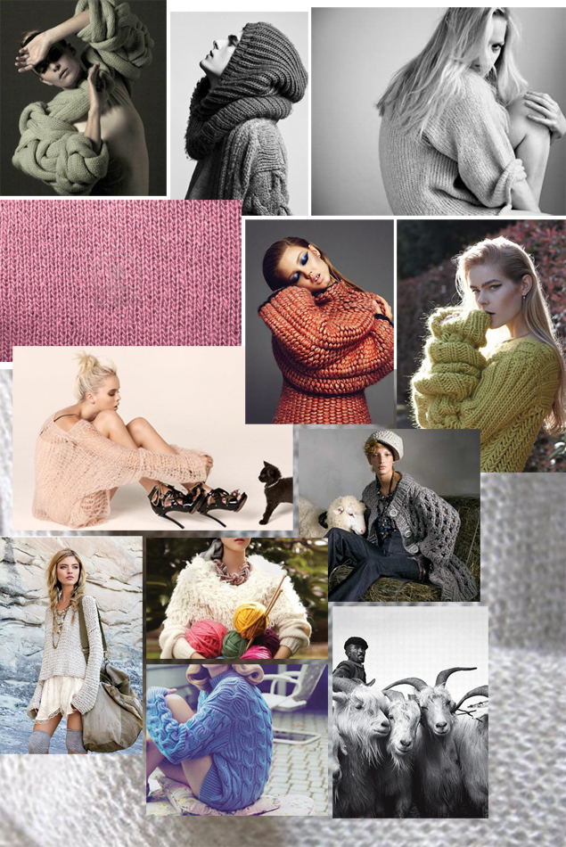 sweater inspiration board