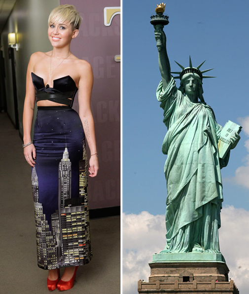 miley cyrus new york skirt