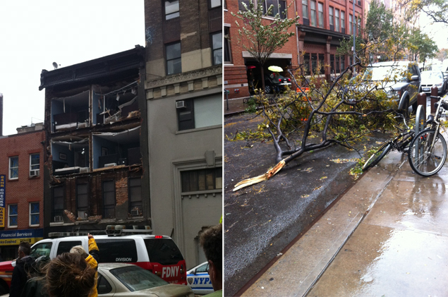 damages from hurricane sandy
