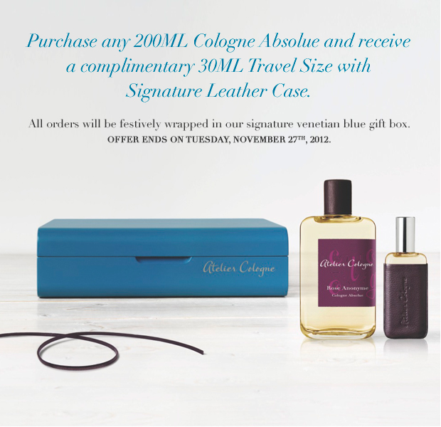 atelier cologne cyber monday