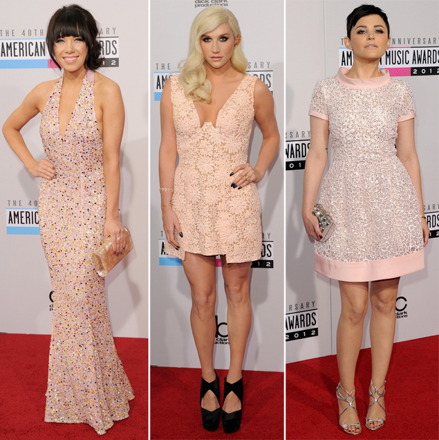 carly rae jepsen kesha ginnifer goodwin ama