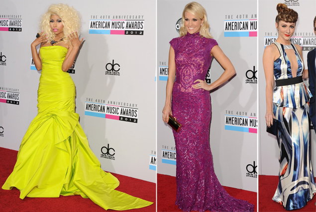nicki minaj carrie underwood karmin hair ama