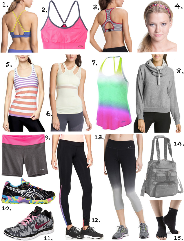 Workout clothing stores